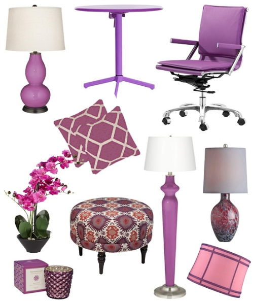 pantone-color-of-the-year-2014-radiant-orchid-home-decor-lighting-lamps-plus